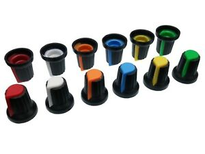 6-Colours-Plastic-Pot-Knobs-for-6mm-Potentiometer-Rotary-Switch-Encoder