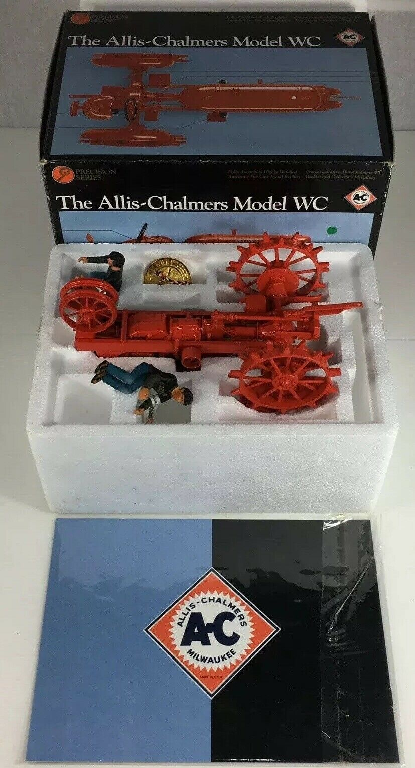ERTL Precision Series The Allis-Chalmers Model WC No.2245 1 16 Scale Boxed