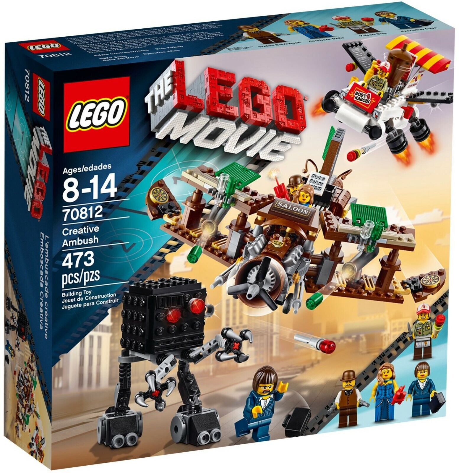 LEGO The LEGO Movie  Creative Ambush (70812) NIB 2014 Set