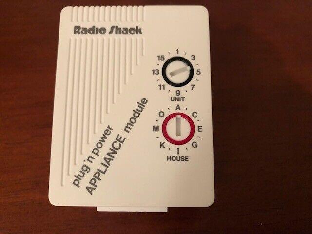 X-10 RADIO SHACK 61-2681B 2-Prong Polarized Appliance Module ~ NEW, NO BOX