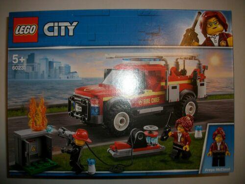 Lego City 60231 Pompiers-opérations//NEUF neuf dans sa boîte