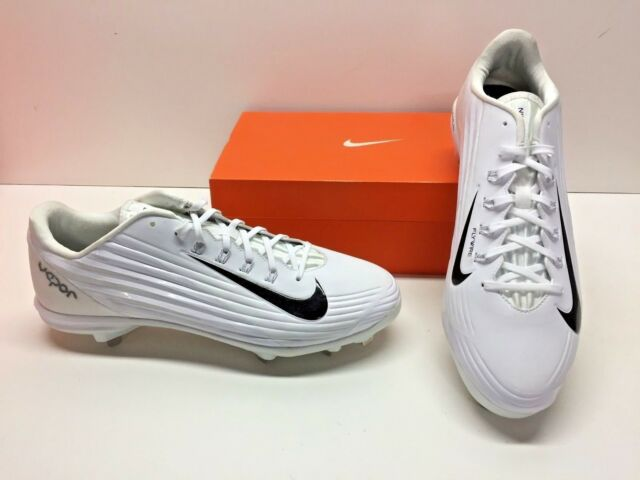 newest 1a210 81d84 Nike Lunar Vapor Pro White Baseball Cleats Athletic SNEAKERS Shoes Mens 14  for sale online   eBay