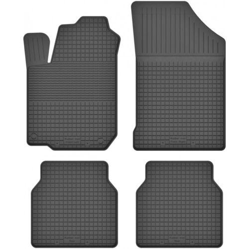 Gummimatten Fußmatten 1.5 cm Rand passt für VW SCIROCCO II 1981-1992 4-teile Set
