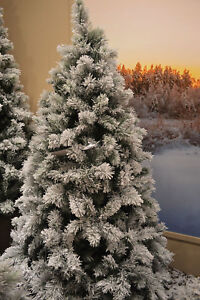 7ft-210cm-Snowy-Vancouver-Mixed-Pine-Artificial-Christmas-Tree-Green-800-tips