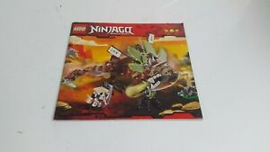 Aimable Lego!!! Instructions Only!!! Pour Ninjago 2509-afficher Le Titre D'origine