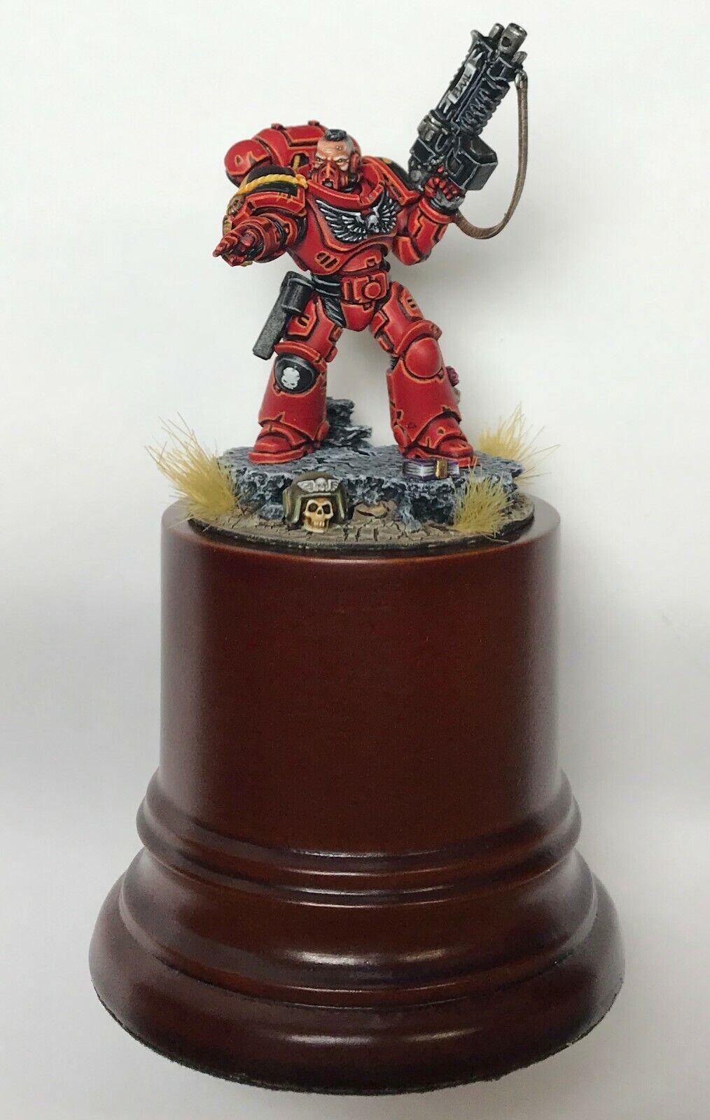 Warhammer 40k Space Marine Blood Angels Sergeant DisJugar Painted