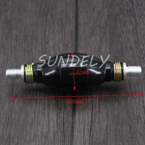 Non Return Valve 6mm Primer Bulb In Line To Suit 6mm Fuel Pipe Hand Primer