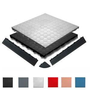 florco-spot Bodenfliesen 6-er Pack, Kunststofffliesen Bodenplatten