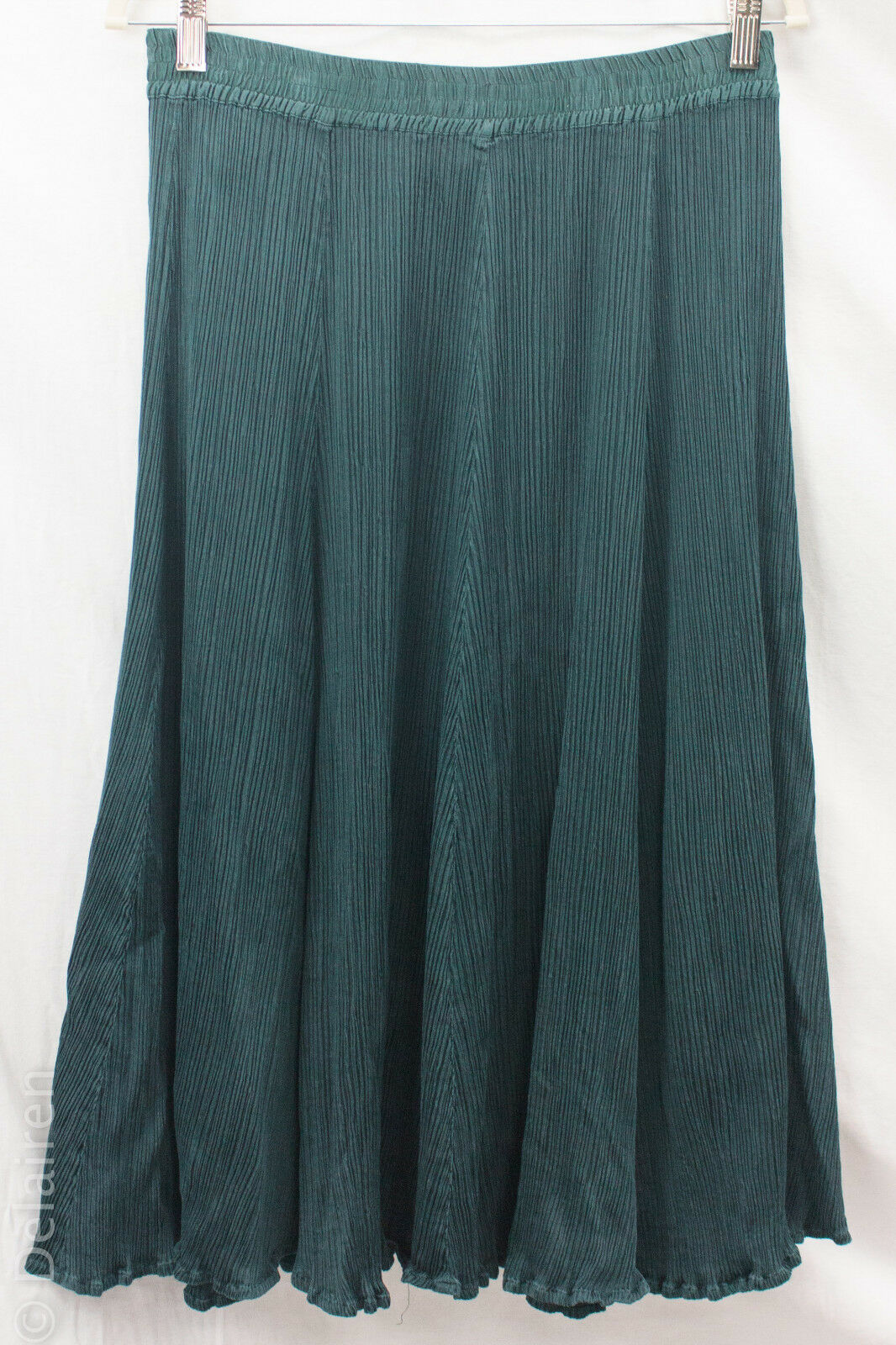 Privatsachen Cocon merz Art to Wear Crinkle Pleated A-Line Silk Blend Skirt