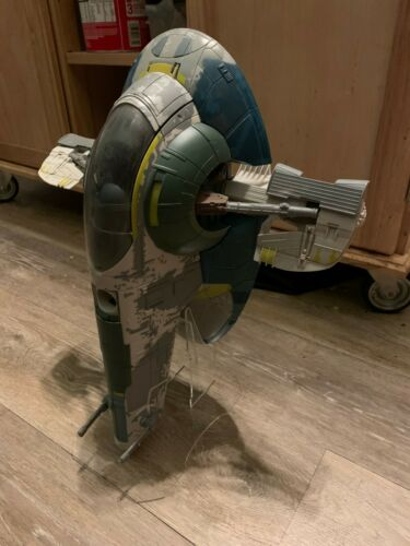 Acrylic Display Stand for Hasbro SLAVE 1 Slave One  Vehicles