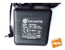 Adaptador de corriente AC/DC G075030D22 7.5V 300mA enchufe de Reino Unido