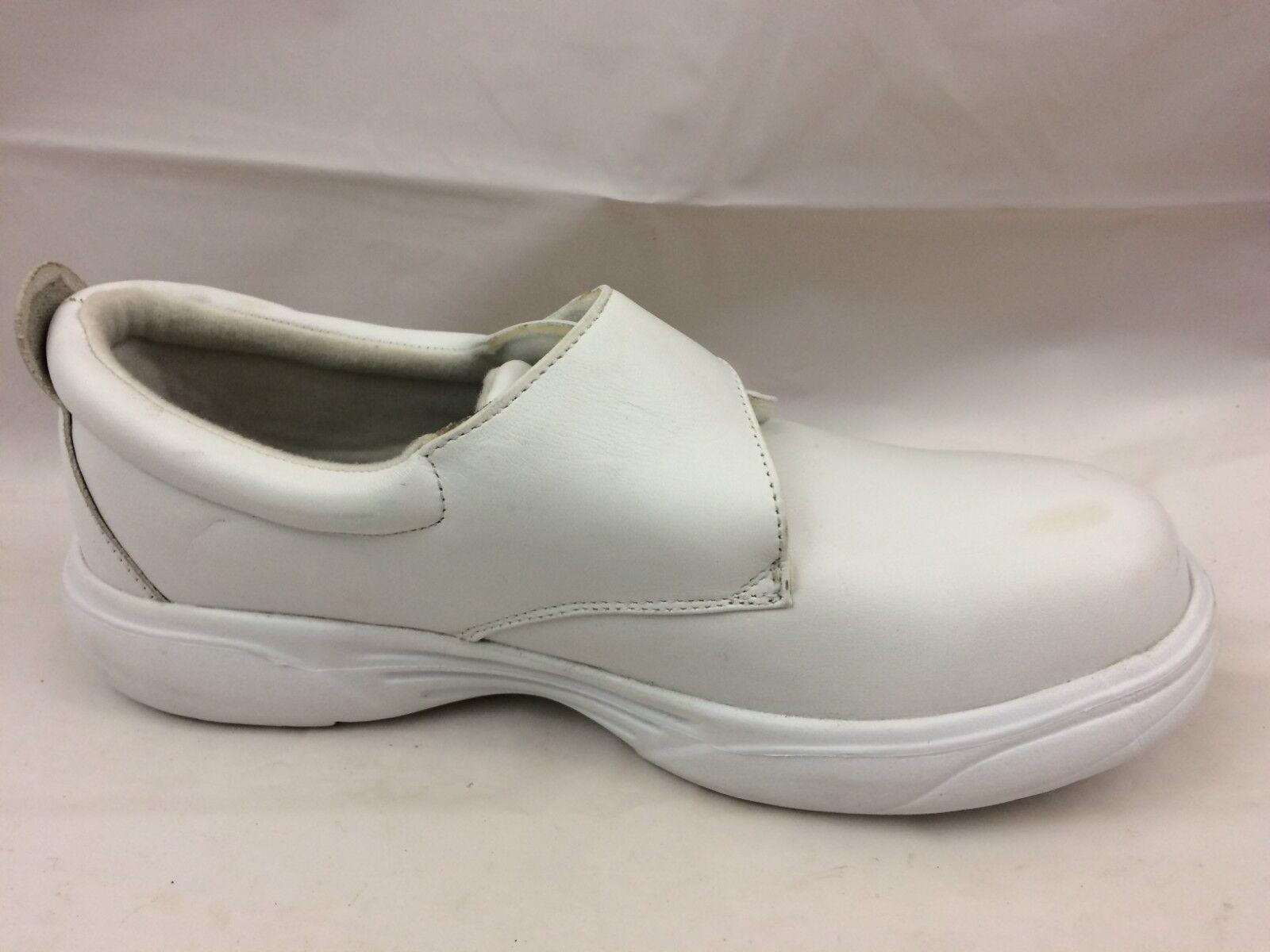 MT EMEY 9209 5E damen 8 5E 9209 Extra Wide Weiß Leather Therapeutic Lightweight schuhe 999e7c