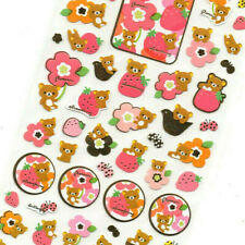 RARE SANX Rilakkuma Alice 2018 Japan Only Sticker Sheets 2 Set Special Gift