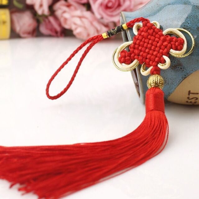 Hot Chinese Tassel Lucky Knot Year Decorations Talisman ...