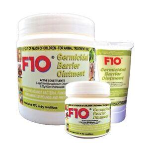 F10 Pet Barrier Cream Ointment Wound Vet Mammals Reptile Birds 25g 100g 500g