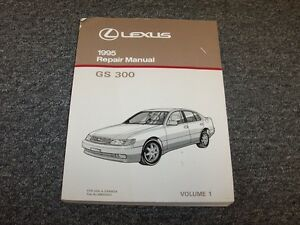 1995 lexus gs300 sedan workshop shop service repair manual book vol1 rh ebay com 1995 lexus gs300 repair manual pdf 1995 lexus es300 owners manual pdf