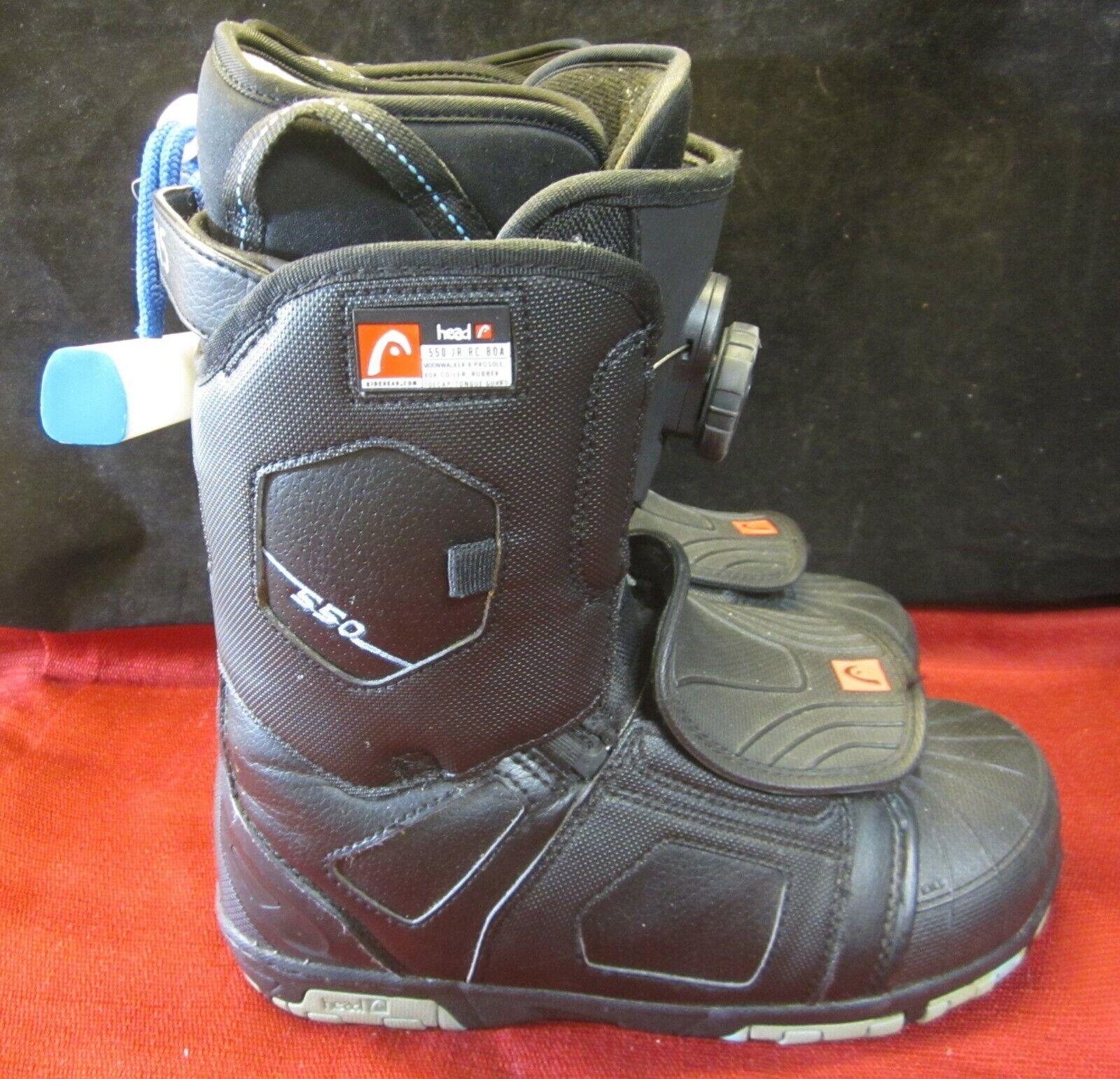 Head Moonwalker 550 JR RC Ski laarzen afmeting 24.5 --6.5 --7.5 --zwart ^ netwerk VGC