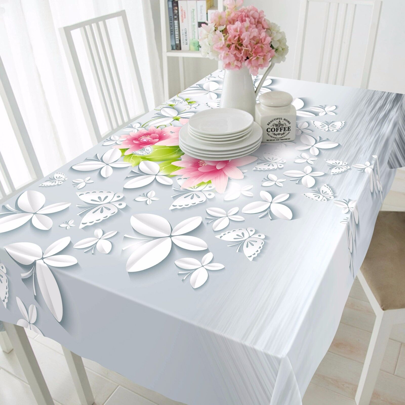 3D Flowers 804 Tablecloth Table Cover Cloth Birthday Party Event AJ WALLPAPER UK