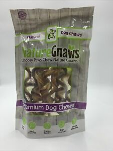 Nature-Gnaws-Large-Bully-Sticks-7-8-inch-12-Pack-Premium-Beef-Dog-Chews-SEALED