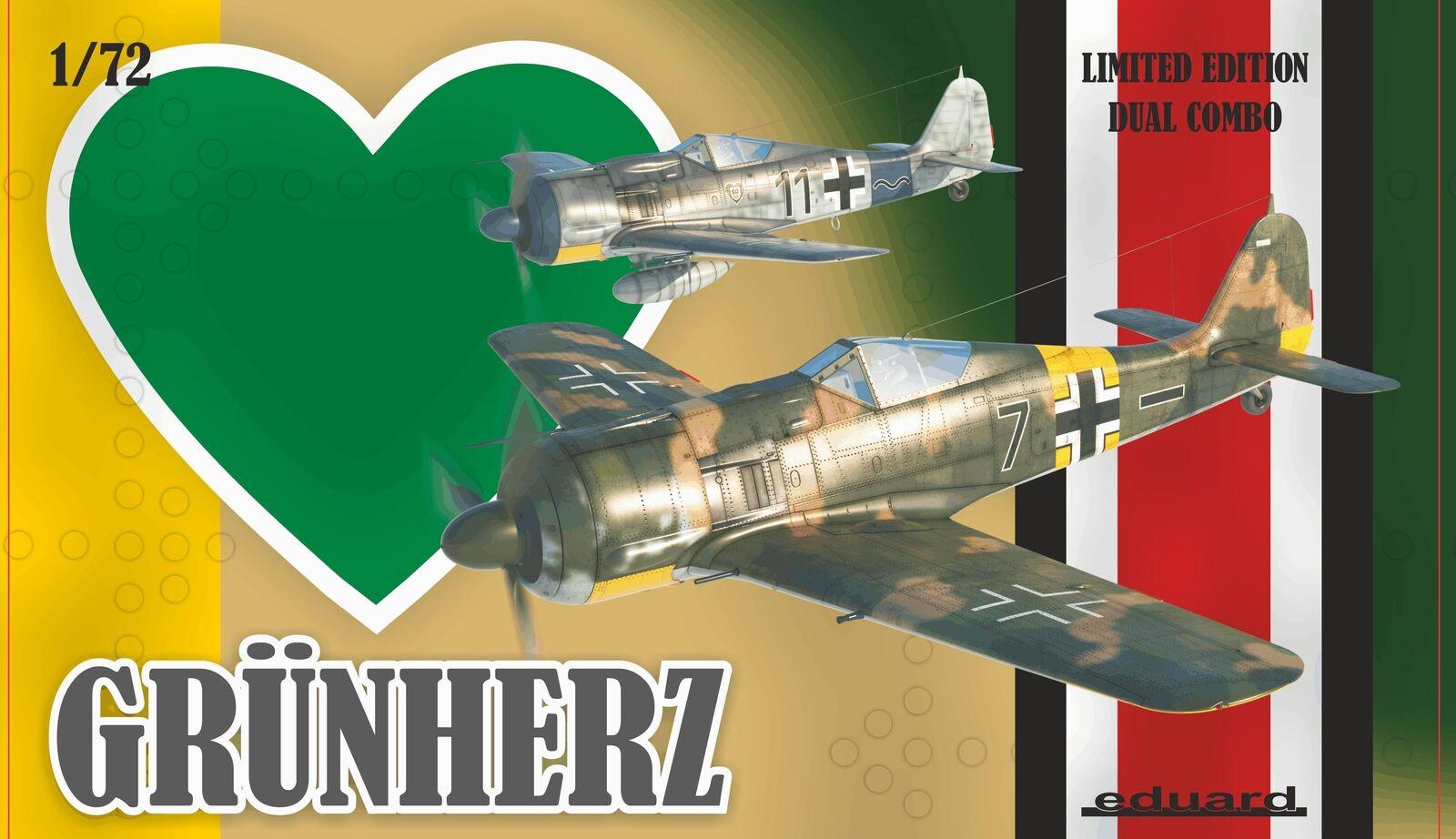 Eduard 1 72 Grun Herz Limited Edition Dual Combo K2122