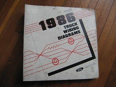1986 ford econoline van wiring diagrams | ebay  ebay