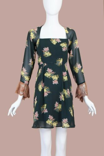 Lolita Lempicka Vintage Babydoll Floral Dress (S)