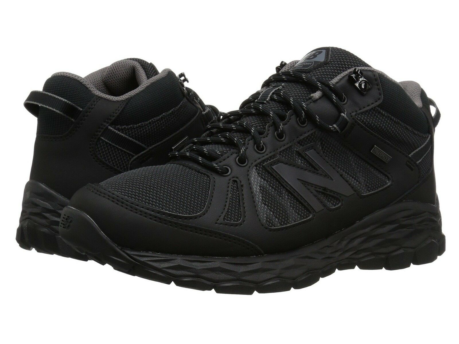 NEW Mens New Balance 1450W Fresh Foam Black Grey Waterproof Hiking shoes GENUINE