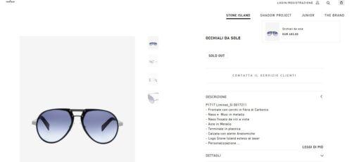 10d88dc692ec Island Sunglasses Carbon Carl Stone Edition Limited Zeiss Vision Aviator  wEanBvxSzq