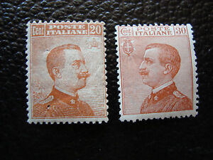 Italy-Stamp-Yvert-and-Tellier-N-105-106-N-A11-Stamp-Italy