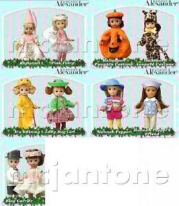 MIP-McDonald-039-s-2003-MADAME-ALEXANDER-Doll-HALLOWEEN-Wedding-FAIRY-Your-CHOICE