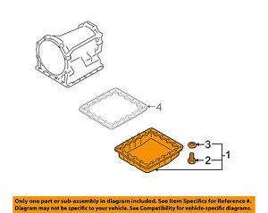 Details zu NISSAN OEM-Transmission Oil Pan 313901XJ0C on