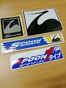 SPOON SPORTS DECALS STICKERS