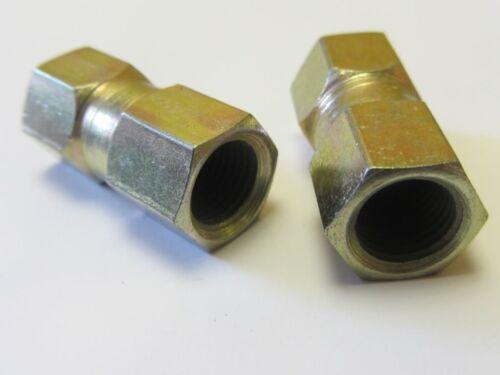 BRAKE 25ft Pipe Repair JOINER MALE ENDS FEMALE COPPER AUDI A6 04