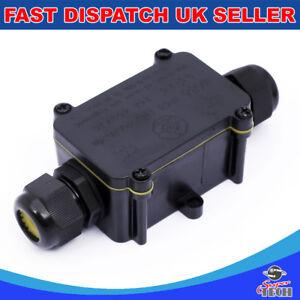 2//3//4Way Scatola Di Derivazione Impermeabile Elettrico Filo Connettore Del Cavo IP68 Regno Unito all/'aperto