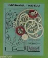 Recel / Petaco Underwater / Torpedo pinball rubber ring kit