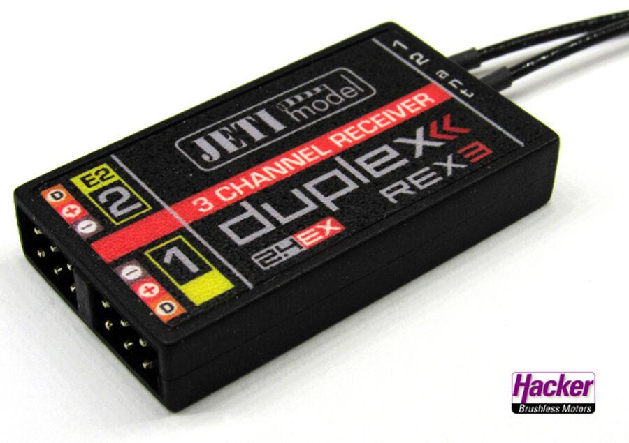 Jeti Duplex  2.4EX Ricevitore R3A20 Jdex RR3 A20 80001249  più economico