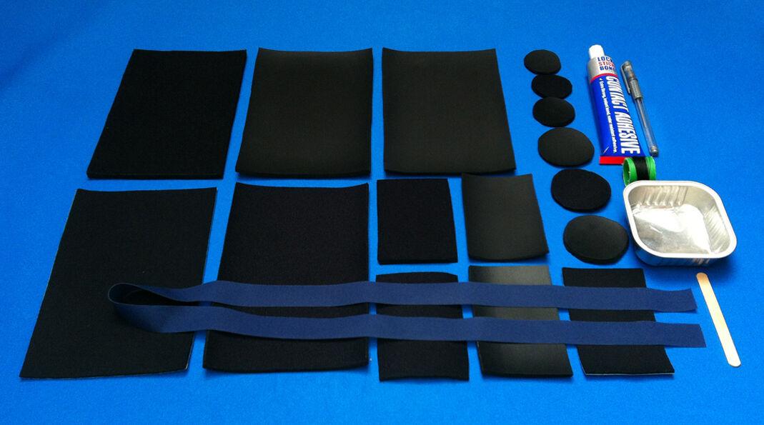 Combinaison De Plongée Complet Kit Réparation Pour Néoprène Étanche Complet Plongée Emballage bf855b