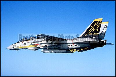 F-14A Tomcat breaks sound barrier Aircraft carrier USS AMERICA CV-66 8X12 PHOTO