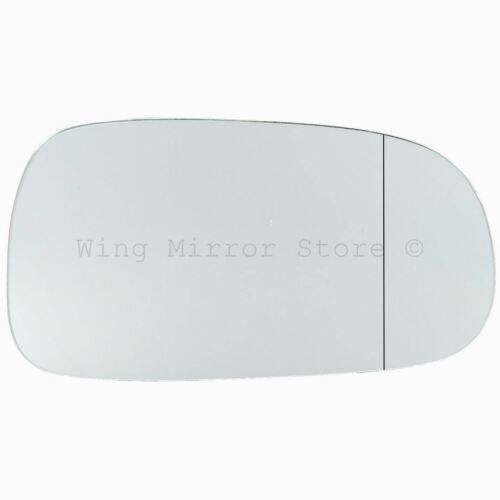 Right Hand Driver Side WIDE ANGLE WING DOOR MIRROR GLASS For Saab 9-3 2003-2010