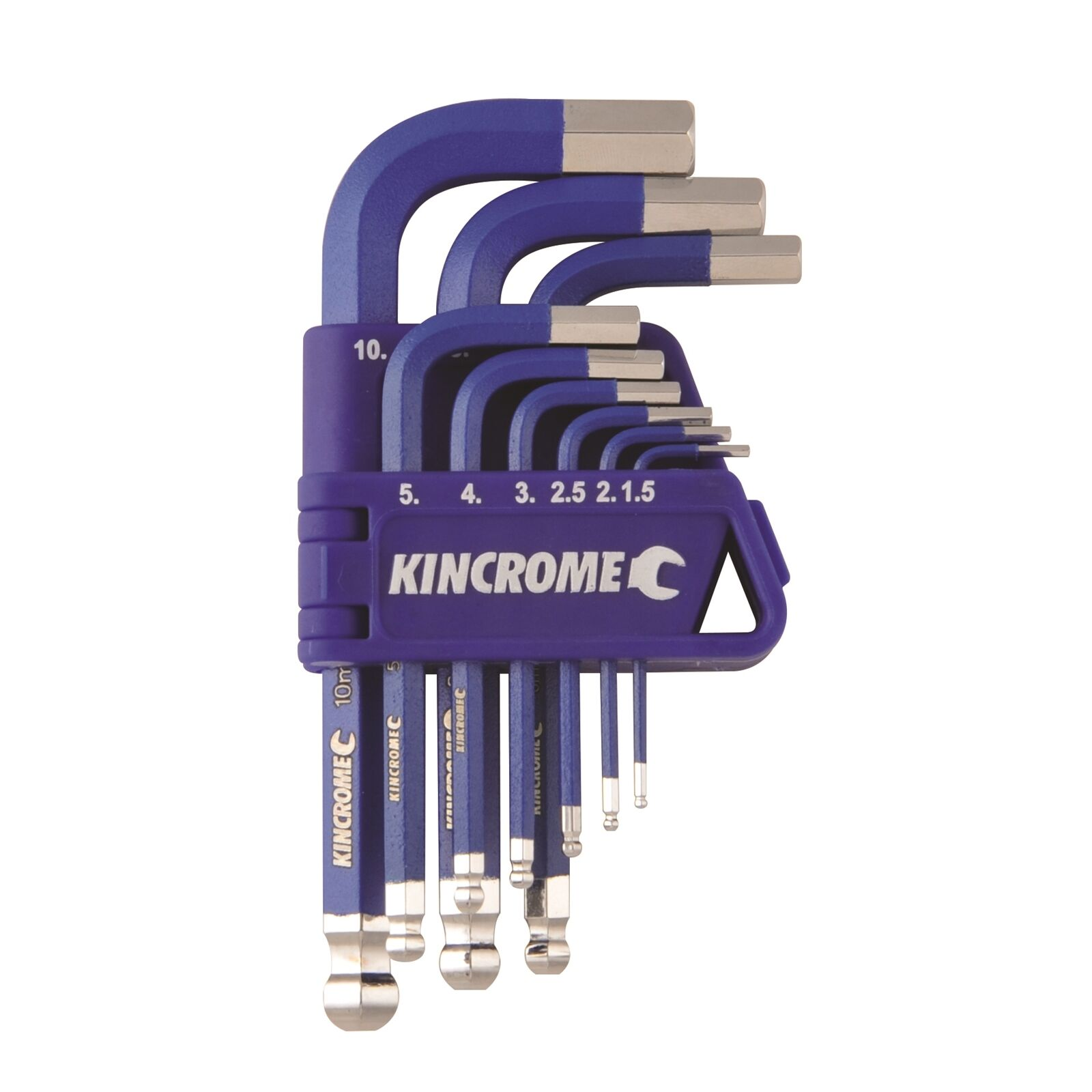 Kincrome HEX KEY & WRENCH SET 9 Pieces Australian Brand - Metric or Imperial