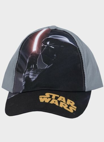 Boys Star Wars Baseball Cap Black Or Grey Children/'s Hat Kids