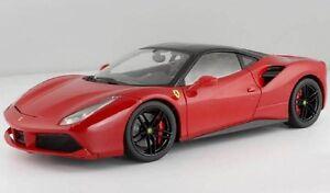 Bburago-1-18-Ferrari-488-GTB-Signature-Diecast-Model-Racing-Car-NEW-IN-BOX
