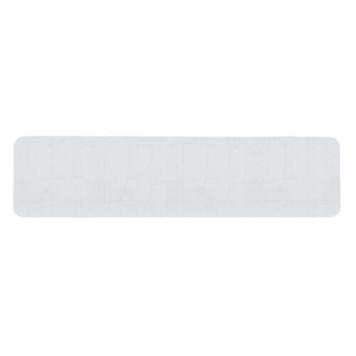 Antirutschband Nasszone weiß gummiert Einzelstreifen 150x610 Antirutschstreifen