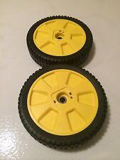 JD New 2 Pack Wheels tires 12SB 14SB 14SE 14PB JE75 JX75 AM115138 M111151 72-115