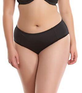 Elomi Essentials ES7524 Midnight Mid Rise Brief  Swimwear NWT XL-6XL available
