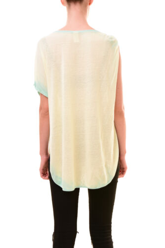 People Tee £49 Free Aqua One Rrp Pluto Authentic Bcf78 Sleeve Size Xs Women's drYwPqr