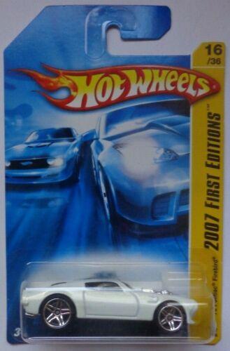 2007 Hot Wheels FIRST EDITIONS /'70 Pontiac Firebird 16//36 White Version