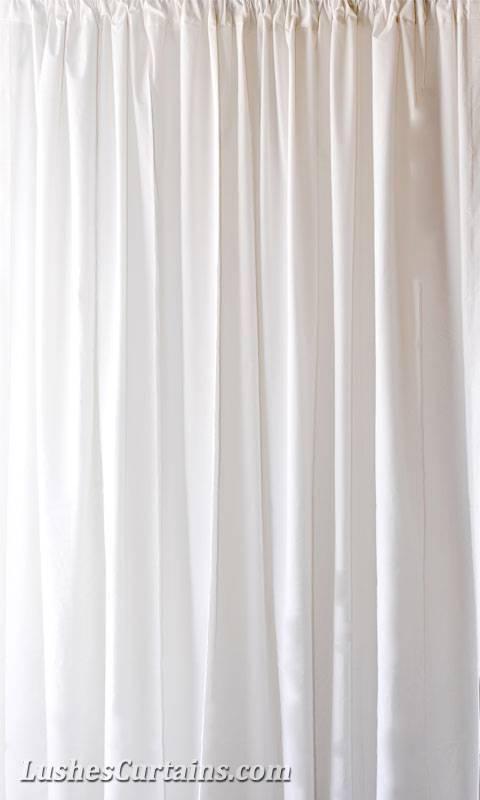 personnalisé 3.4 M H blanc rideaux velours Panneau long EvéneHommes t spécial | Authentique