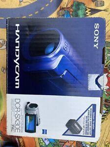 Sony HANDYCAM VIDEOCAMERA DCR-SX30E Scheda di Memoria Flash/Video Digitale Fotocamera Zeiss