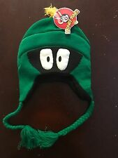 LOONEY TUNES MARVIN THE MARTIAN Laplander HAT ONE SIZE Winter Knit WARM